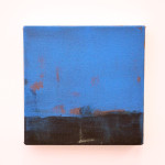 Rael Jero Salley_Blue Small One 2013 Acrylic on Canvas_30x30