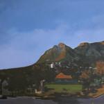 Rael Jero Salley_Solstice Morning 2013 Acrylic on Canvas 185x365