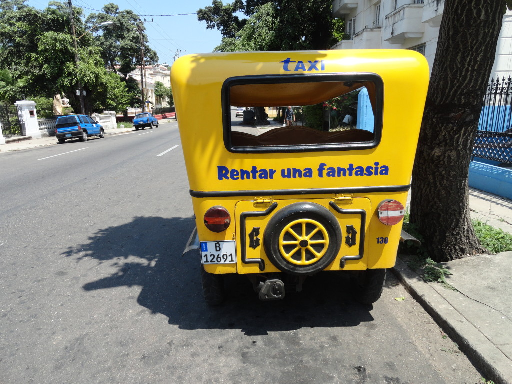 """Coco Taxi"" - Photo credit: Annie Gibson"