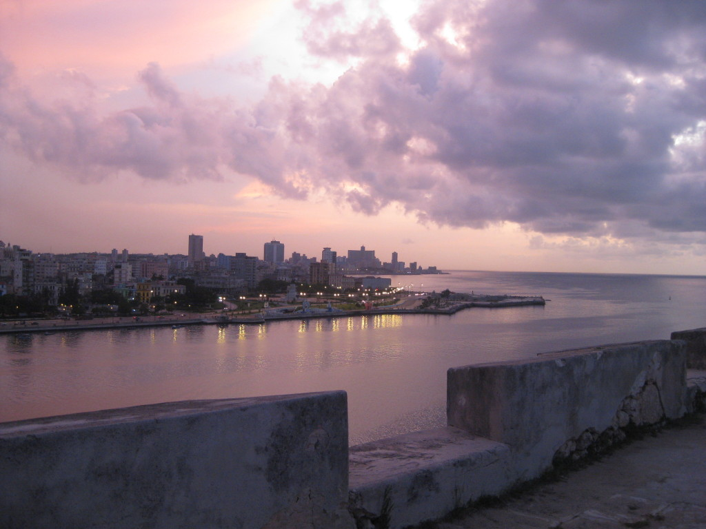 """Havana Sunset"" - Photo credit: Annie Gibson"